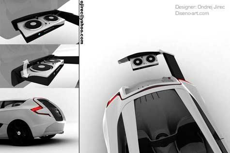 Audi O Car Concept » image 8