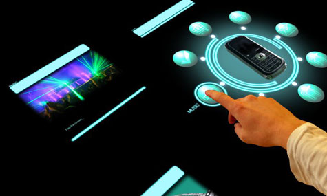 atracTable Interactive Presentation Surface » image 1