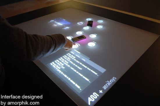 atracTable Interactive Presentation Surface » image 3