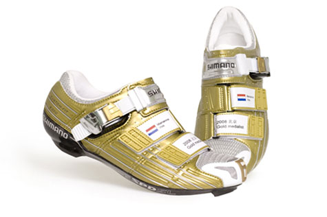 SH-R300 Road Gold Shoes for Olympic Champion » image 1