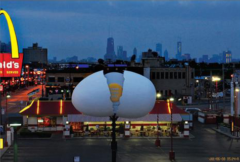 McDonalds Giant Egg Billboards » image 2