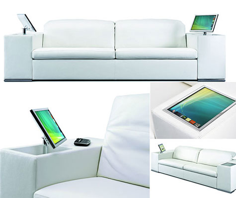 Athena Multimedia Sofa » image 1