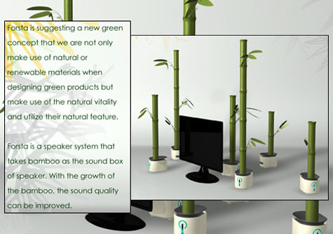 Bamboos host speakers » image 1