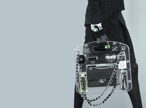 Chanel Perspex Briefcase » image 1