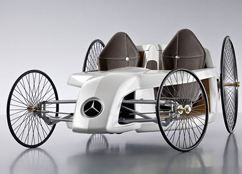 Daimler Unveils Mercedes-Benz Hybrid F-CELL Roadster  » image 2