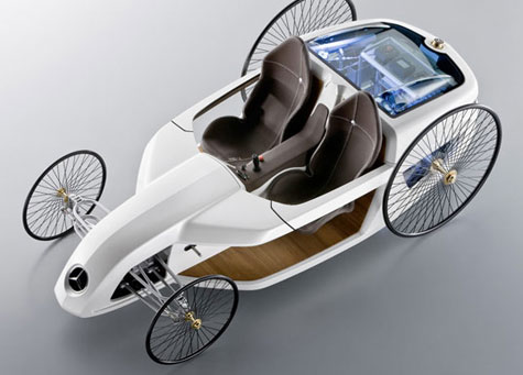 Daimler Unveils Mercedes-Benz Hybrid F-CELL Roadster  » image 3