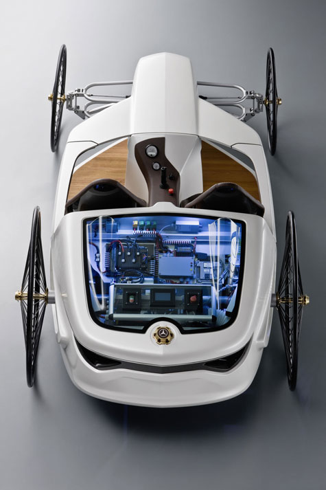 Daimler Unveils Mercedes-Benz Hybrid F-CELL Roadster  » image 6