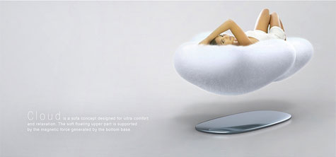 Cloud: Magnetic Floating Sofa  image 2