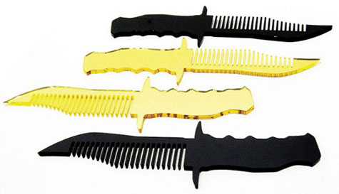 Knife Combs » image 1