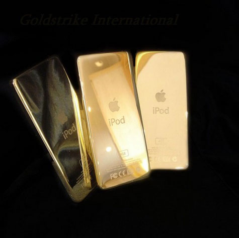 Apple Ipod 24 Carat Gold » image 1