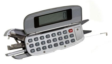 5-in-1 Office Tool Calculator, Stapler » image 1