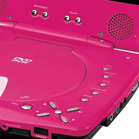 Pink Durabrand Portable DVD Player » image 4