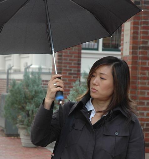 Ambient Umbrella : Umbrella That Predicts The Weather » image 1
