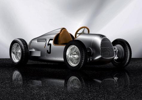 Audi Auto Union Type C Pedal Car » image 1