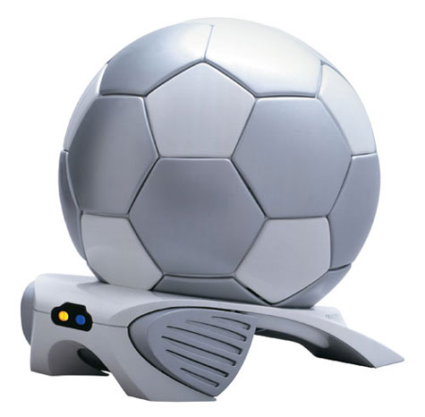 Silver Soccer Ball Cooler » image 1