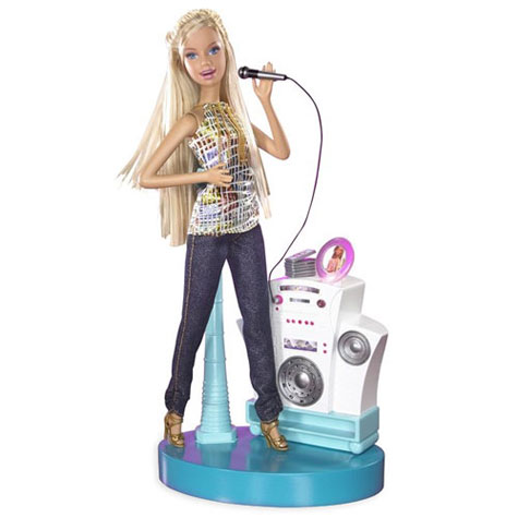 Barbie Speaker : Chat Diva Singing Doll » image 1