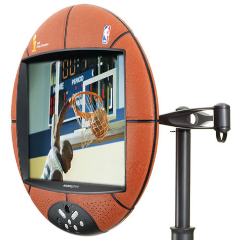 Hannspree 15″ NBA Basketball LCD TV | Top Blog Posts :: Design
