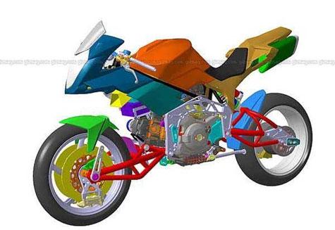 Bimota TESI 3D » image 10