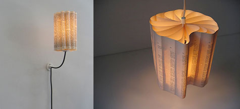 Boeklampen: Lamps From Recycled Books » image 1