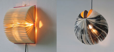 Boeklampen: Lamps From Recycled Books » image 2