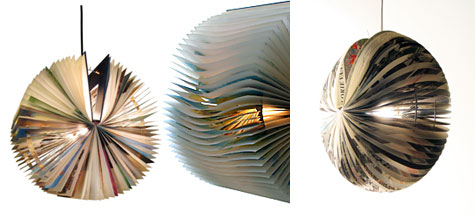 Boeklampen: Lamps From Recycled Books » image 3