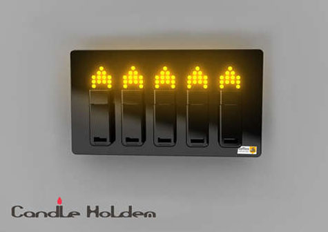The Candle Holdem - USB Drives Light Up Your Room » image 3