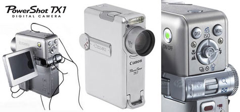 Canon TX1 Powershot Digital Carmera : Full Specefication  » image 2