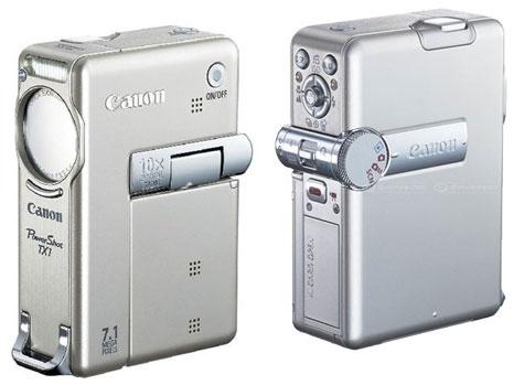 Canon TX1 Powershot Digital Carmera : Full Specefication  » image 3