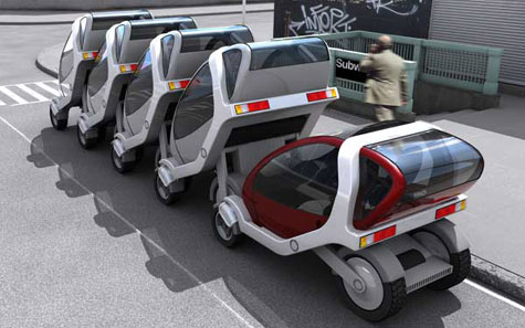 Stackable Rental EV- MIT City Cars » image 1