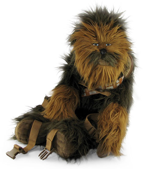 Chewbacca Plush Backpack » image 1