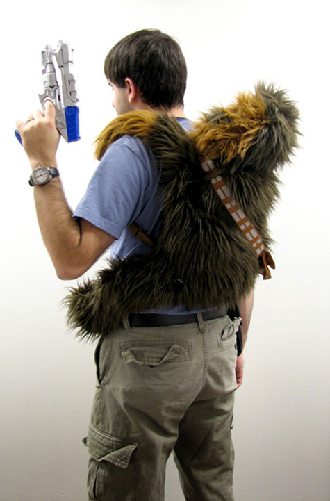 Chewbacca Plush Backpack » image 2
