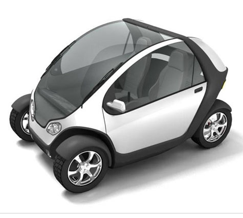 MITs Stackable, Foldable City Car 2.0 » image 1