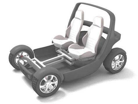 MITs Stackable, Foldable City Car 2.0 » image 4