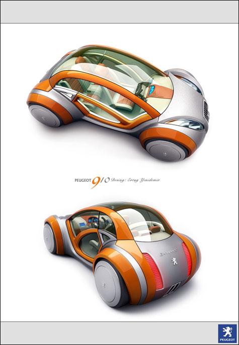 Fourth Peugeot Design Competition : Automotive Ideas » image 11