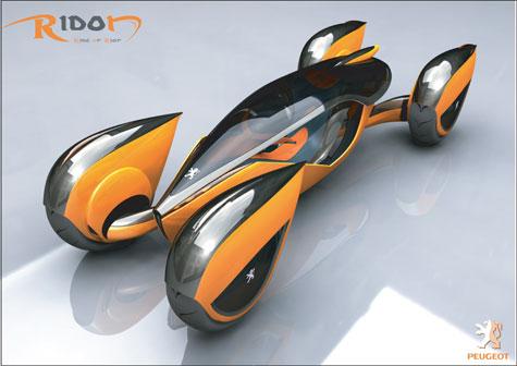 Fourth Peugeot Design Competition : Automotive Ideas » image 15
