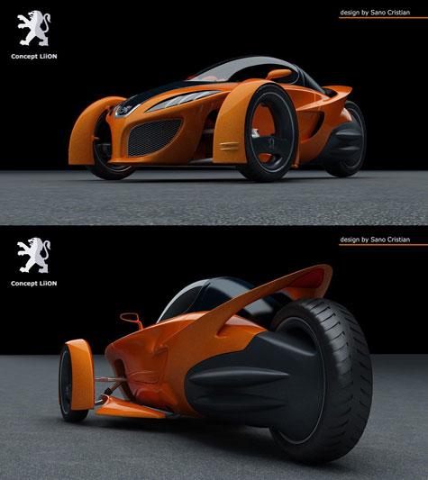 Fourth Peugeot Design Competition : Automotive Ideas » image 2