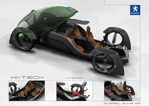 Fourth Peugeot Design Competition : Automotive Ideas » image 3