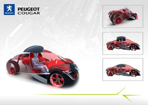 Fourth Peugeot Design Competition : Automotive Ideas » image 4
