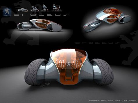 Fourth Peugeot Design Competition : Automotive Ideas » image 7