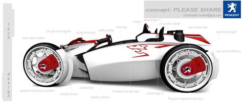 Fourth Peugeot Design Competition : Automotive Ideas » image 8