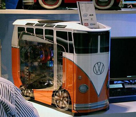 Cooler Masters Volkswagen PC Bus Computer Case » image 1