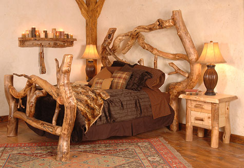 Crazy Horse Free Form Bed » image 1