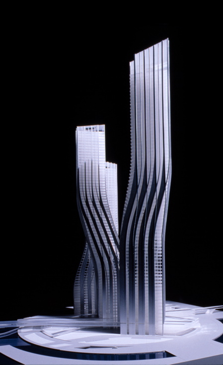 Dancing towers, Dubai, by Zaha Hadid » image 2