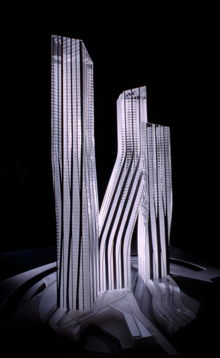 Dancing towers, Dubai, by Zaha Hadid » image 3