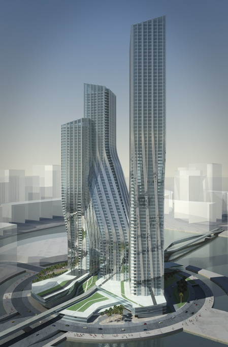 Dancing towers, Dubai, by Zaha Hadid » image 6