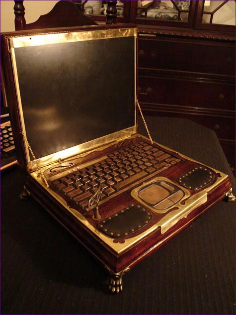 Datamancers Steampunk Laptop » image 3