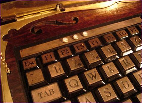 Datamancers Steampunk Laptop » image 4