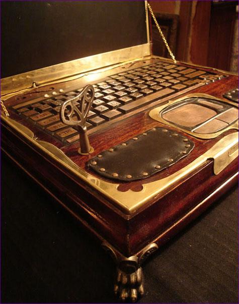 Datamancers Steampunk Laptop » image 5