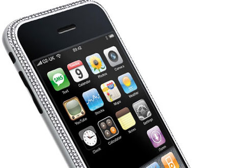 Diamond Apple iPhone Mobile » image 1