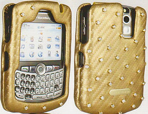 Diamond Studded Blackberry Case » image 1